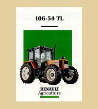 Renault 106-54 TL Schlepper Traktor