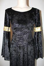 Elegantes Gothik Kleid / Kostüm mit raffiniertem Schnitt -wenig getragen-