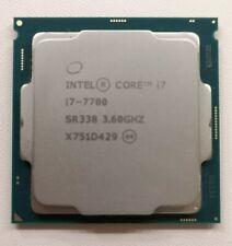 Intel Core i7 7700 3.6GHz - CPU Processor - LGA1151 - CPU ONLY