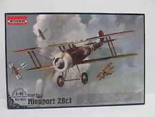 MES-44607Roden 403 1:48 Nieuport 28c1 Bausatz geöffnet,