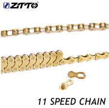 11 Speed Chain MTB Road Bike Gold Bicycle Chain With 116 Links for Shimano SRAM