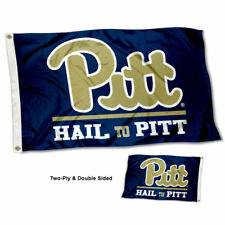 Pitt Panthers Hail to Pitt Flag Double Sided 2-Ply 3x5 Foot Outdoor Banner