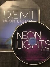 """DEMI LOVATO """"NEON LIGHTS"""" RARE 14 REMIX OFFICIAL BRAZILIAN UNIVERSAL CD PROMO"""