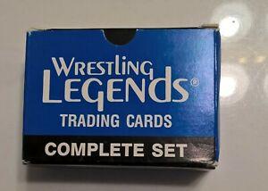 """1991 Imagine """"Wrestling Legends"""" Complete 60 Card Set w/ 2 Autographed cards NWA"""