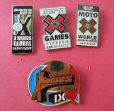 X Games (Extreme Sports) Lot of 4 Pins All New