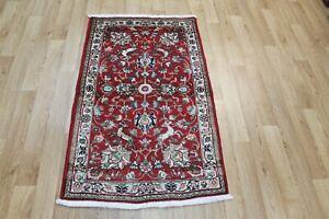 ANTIQUE PERSIAN RUG FLORAL DESIGN 135 X 80 CM