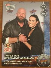 Topps NOW WWE 125 Triple H & Stephanie McMahon Connor's Cure (216 Made)