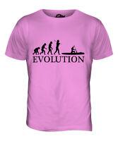 CANOE EVOLUTION OF MAN MENS T-SHIRT TEE TOP GIFT CLOTHING CANOEING