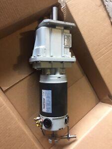 DC gear motor Transtecno 500W 24V 3000 RPM to 127 RPM