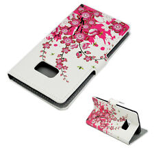 Book Flip Leather Wallet Phone Pocket Case Cover Skin For Samsung Mobile Phone