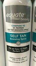 Equ 00004000 ate Beauty Self Tan Bronzing Spray 6.7oz Compare to St Tropez Self Tan Spray