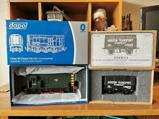 Dapol O Gauge BR Green Class 08 & Skytrex Private Owner Wagon With Coke Rails