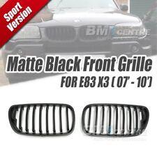 Matt Black Kidney Front Mesh Nose Grille for BMW X3 E83 LCI 2007-2010 Genuine OE