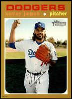 Kenley Jansen 2020 Topps Heritage 5x7 Gold #36 /10 Dodgers