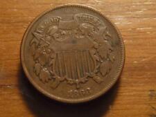 1868 2 Cent Piece  Fine Condition SKU# 24114