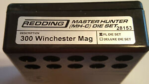 28153 REDDING MASTER HUNTER DIE SET - 3OO WIN MAG - BRAND NEW - FREE SHIP!