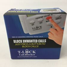 T-LOCK Call Blocker, Block Unwanted Nuisance Unsolicited Telephoen Phone Calls