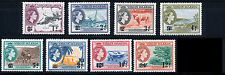 BRITISH VIRGIN ISLANDS 1962 DEFINITIVES SG162/169 BLOCKS OF 4 MNH