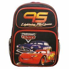 "16"" Lighting McQueen #95 Large School Boys Backpack (Black)"
