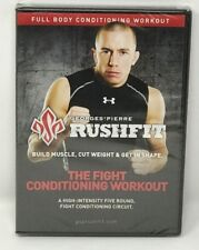 NEW Rushfit George St Pierre The Fight Conditioning Workout Exercise Fitness DVD