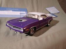 Franklin Mint 1970 Plymouth Hemi  Cuda Purple