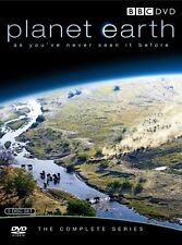 "David Attenborough Planet Earth Complete BBC Series 5 Disc DVD Box Set R4 ""sale"""