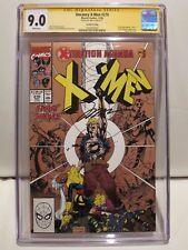 Uncanny X-Men #270 Second Printing CGC 9.0 Jim Lee Signature Series Marvel 11/90