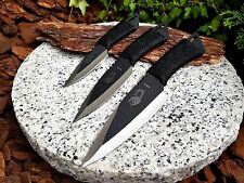 3er Messer Knife Bowie Buschmesser Messer  Coltello Cuchillo Couteau Huting