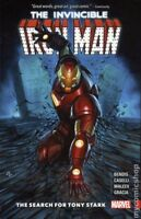 Invincible Iron Man TPB NM Vol 1 The Search For Tony Stark (2018) Marvel Comics