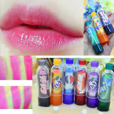 6Color/Set Long Lasting Change Colors Fanta Coke Pepsi Sprite Lip Balm Lipsticks