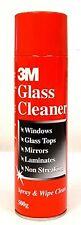 3M Aersol Glass Windows Mirrors Laminate Cleaner