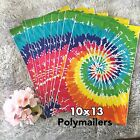 100 Designer Printed Poly Mailers 10X13 Shipping Envelopes Bags TIE DYED