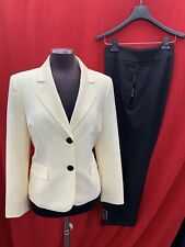 """LESUIT PANT SUIT/SIZE 14/INSEAM 32""""/NEW WITH TAG/YELLOW/BLACK"""