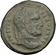 CONSTANTINE I the GREAT 324AD Ancient Roman Coin Military Camp gate  i52606