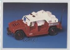 1994 Comic Images GI Joe 30th Salute #76 Firefighter Vehicle Non-Sports Card 1m8