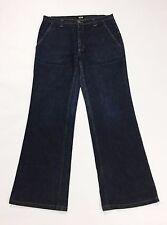 Killer loop W32 46 usati loose jeans gamba larga svasati blu donna denim T1902
