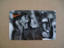 TIGER WOODS Nike Gift Card NO VALUE PGA Golf US Open Masters Collectable Nice