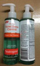 Neutrogena Acne Stress Control Gel Cleanser 6oz New (2 PACK) Hard to Find! Rare