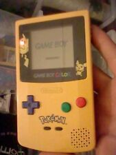 Game boy color PIKACHU pokemon amarilla Nintendo