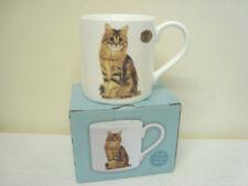 Fine China Tabby Cat Ceramic Palace Mug Fine China Pet Lovers Gift Leonardo