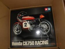 TAMIYA 1/6 HONDA CB750 RACING MOTORCYCLE SEMI-ASSEMBLED PREMIUM BIKE # 23210 KIT