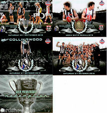2010 Select AFL Collingwood Premiership Limited Edition 4-Card Set + Redemption