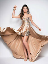 Blush style 9508 Sapphire Size 4 -- Evening Dress-Military Ball--prom