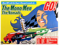 The Mono Men & Nomads 1995 Original Concert Tour Poster By Frank Kozik S/N