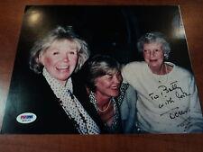 DORIS DAY -  Signed 8x10 Photo to Betty WITH LOVE Pillow Talk My Heart - PSA COA