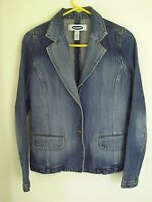 Women's Faded Jean Jacket Blazer by Old Navy Size S