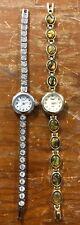 Vivani ladies Lot Of 2 Watches Needs Batteries (D20)