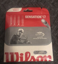 Wilson Sensation 17 GAUGE TENNIS STRING WRZ9234 NEW