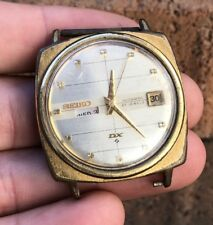 VINTAGE SEIKO DX 6106-8030 H88 SEALION AUTOMATIC 25 JEWEL DAY DATE MENS WATCH
