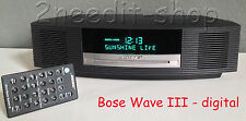 Bose Wave Music System III Radio mit Touch, DAB, RDS, anthrazit
